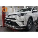 Защита бампера Toyota Rav4 2017+