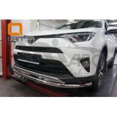 Защита переднего бампера Toyota Rav4 2016+