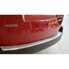 Накладка на задний бампер Toyota Rav4 2017+