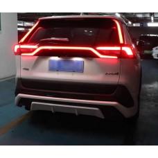 Led вставки задних стоек Toyota Rav4 2020+