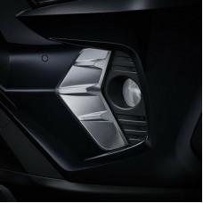 Хром под туманки Toyota Rav4 2020+