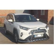 Защита бампера Кенгурятник Тойота Рав4 2019+