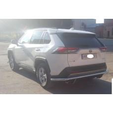 Защита заднего бампера Toyota Rav4 2019+