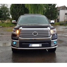 Защита переднего бампера Toyota Tundra 2014+
