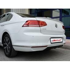 Тюнинг накладка на задний бампер VW Passat B8