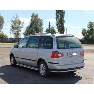Защита заднего бампера VW Sharan