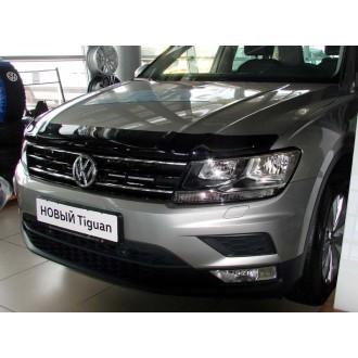 Дефлектор капота VW Tiguan 2017+