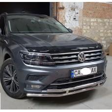 Защита бампера Volkswagen Tiguan 2017-2018+