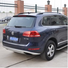 Накладка на задний бампер VW Touareg 2010-2015