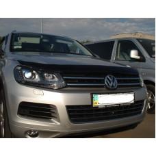 Дефлектор капота SIM для Volkswagen Touareg 2010+