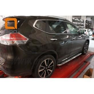 Пороги Nissan X-Trail 2014+