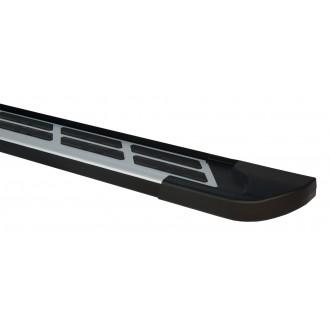 Алюминиевые пороги Nissan X-Trail T32 2014+