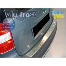 Накладка на бампер Alufrost  для Skoda Yeti 2009+