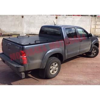Алюминиевая крышка черная Toyota Hilux